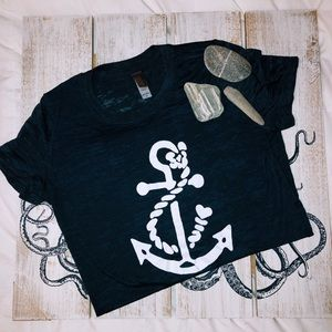 ⚓️Nautical Vintage Anchor Tee⚓️